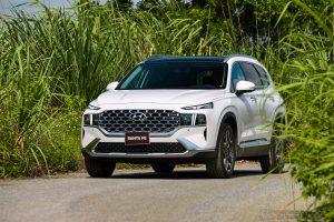 Hyundai Santafe 2021 facelift